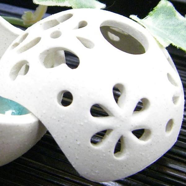 お香立て 陶器 ボール型 おしゃれ|denden-dou3|03