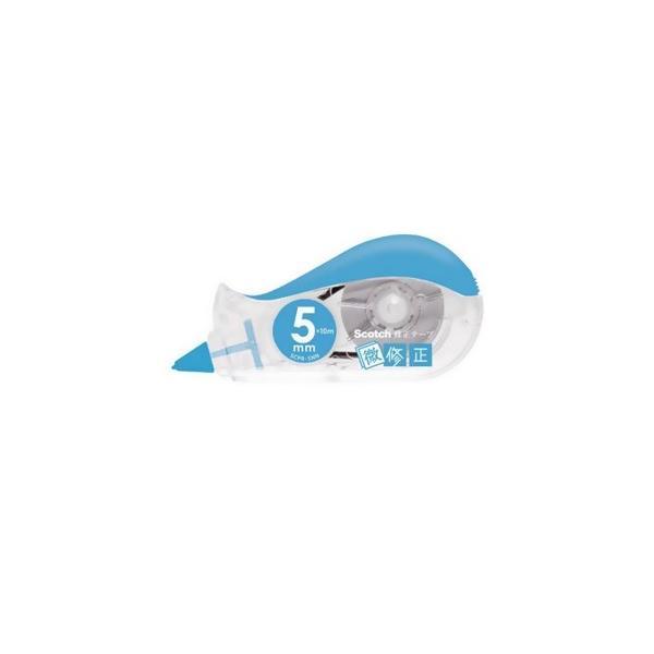 スリーエムジャパン スコッチ 修正テープ微修正 5mm×10m ブルー SCPD-5NN