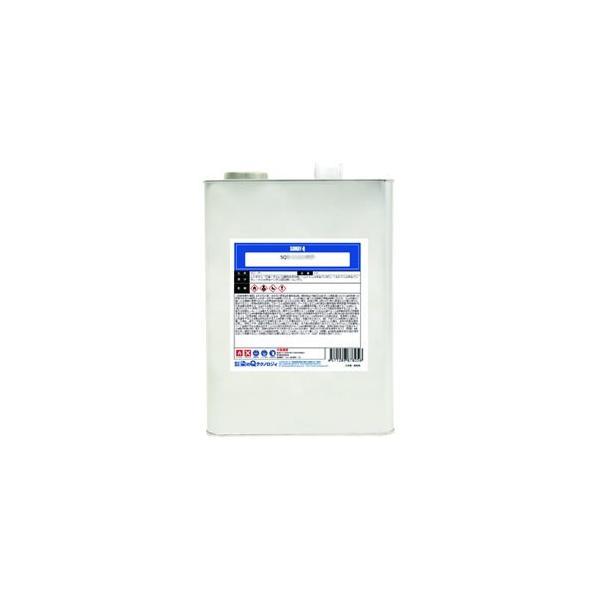 染めQテクノロジィ SQガンクリーナー スプレーガンの洗浄液 内容量4kg SQガンクリーナー4KG