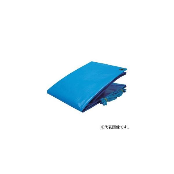 ユタカメイク ブルーシート #3000 厚手タイプ 中・長期使用タイプ 目安の大きさ18畳 5.4×5.4m ハトメ24個付 シート紐×4本付 BLS-13