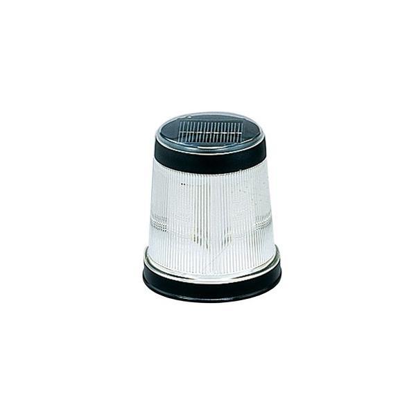 アイリスオーヤマ LEDソーラーライト マーカー型 高輝度LED×4灯 白色 光センサー付 GSL-222W
