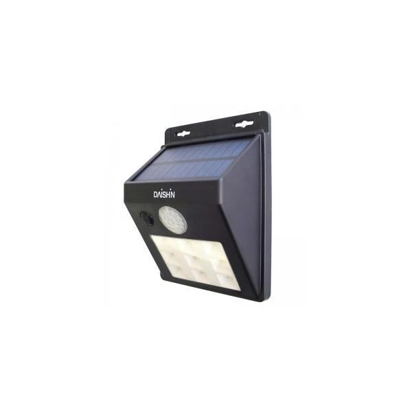 大進 LEDソーラーウォールライト 120lm DLS-WL001