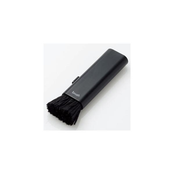 ELECOM 除電クリーニングブラシ コンパクト収納タイプ KBR-014AS