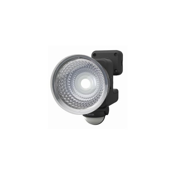 ライテックス フリーアーム式LEDセンサーライト 防雨型 乾電池式タイプ 天井取付可 1.3W×1灯 110lm 白熱球15W相当 CBA-110