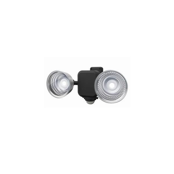 ライテックス フリーアーム式LEDセンサーライト 防雨型 乾電池式タイプ 天井取付可 3.5W×2灯 600lm 白熱球100W相当 CBA-140