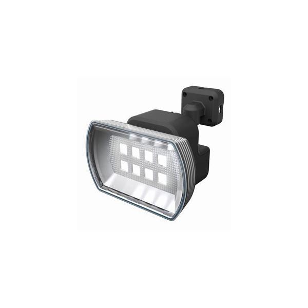 ライテックス フリーアーム式LEDセンサーライト 防雨型 乾電池式タイプ 天井取付可 4.5Wワイド 400lm 白熱球60W相当 CBA-150