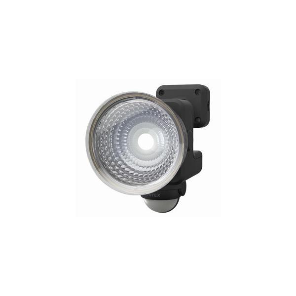 ライテックス フリーアーム式LEDセンサーライト 防雨型 ソーラー式タイプ 天井取付可 1.3W×1灯 110lm 白熱球15W相当 CSC-30