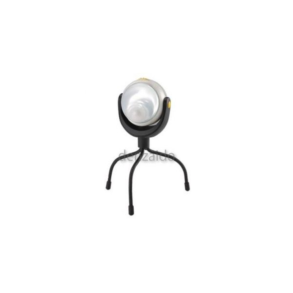 ライテックス ケース販売 6個セット LEDどこでもセンサーライト 防雨型 三脚/マグネット取付式 単3乾電池×3本(別売) ASL-090_set