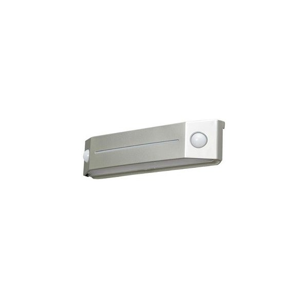 アイリスオーヤマ LEDセンサーライト 屋外用 IP44 フットタイプ 電池式 白色 BOS-FN2-WS