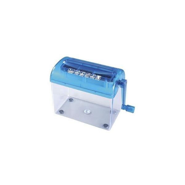 サンワサプライ ハンドシュレッダー 手動 A4縦2つ折り対応 4.0mmストレートカット PSD-12