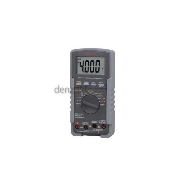 三和電気計器 デジタルマルチメータ 高入力インピーダンス1000MΩ 真の実効値測定 10ファンクション RD701