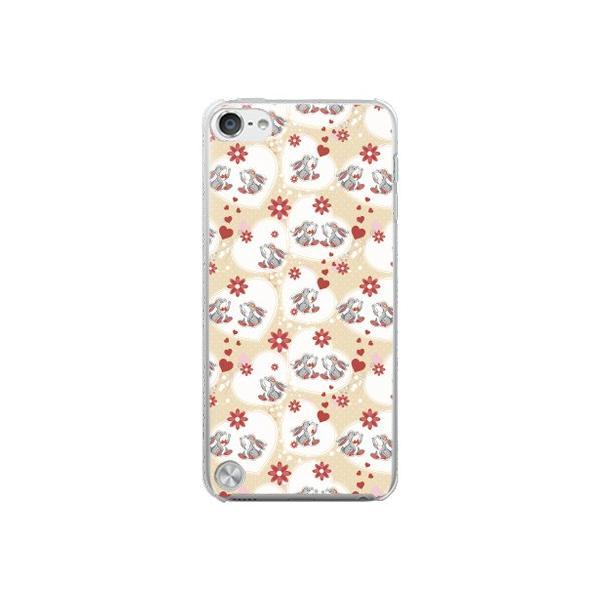 Apple iPod touch 第5世代 ケース カバー (うさぎの恋 )