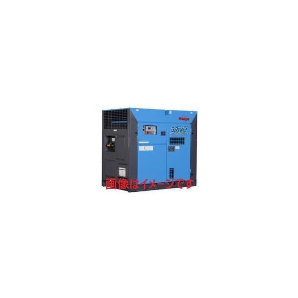 デンヨー (Denyo) MPS-37VP-4 モータコンプレッサ 屋外防音型 インバータ/可変吐出圧力仕様