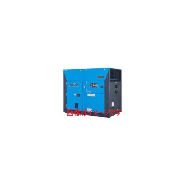 デンヨー (Denyo) MPS-75VP-2 モータコンプレッサ 屋外防音型 インバータ/可変吐出圧力仕様