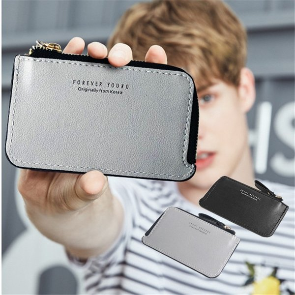 メンズ財布コインケース小銭入れミニ財布L字ファスナー薄型コンパクト財布カード