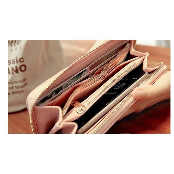 レディース 長財布 カード入れ ファスナー ショルダー 本革 カード 小銭サイフ ロングタイプ激安 プレゼント送料無料