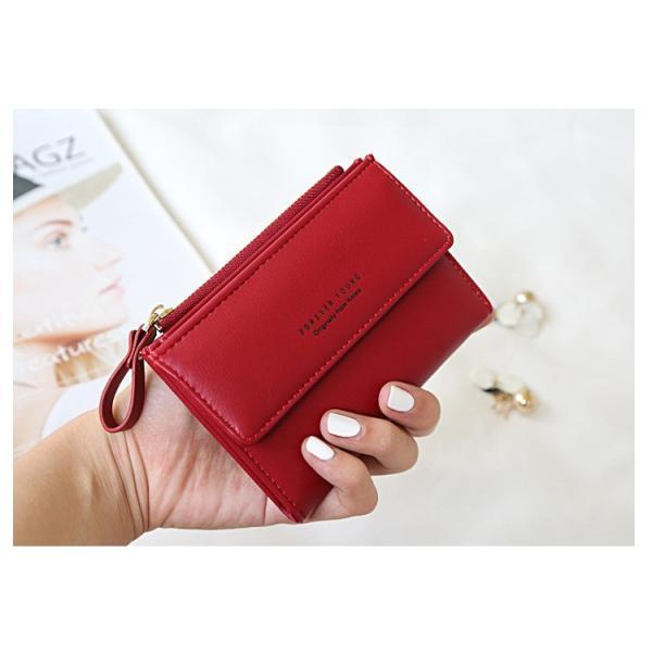 2b656bfc806e ... ミニ財布レディース 二つ折り 可愛いウォレット財布カードケース小銭入れカード収納プレゼントに ...