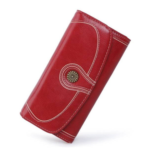 レディース 長財布 二つ折りスナップ式 ウォレ ット シンプルギフ 本革レザー 多機能大容量財布ロングウォレット おしゃれ カード14枚収納|denimstorm|11