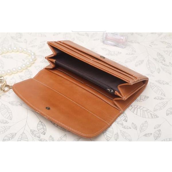 レディース 長財布 二つ折りスナップ式 ウォレ ット シンプルギフ 本革レザー 多機能大容量財布ロングウォレット おしゃれ カード14枚収納|denimstorm|10