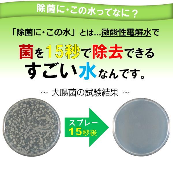 微酸性電解水「除菌に・この水」300ml|denkaisuishop|03