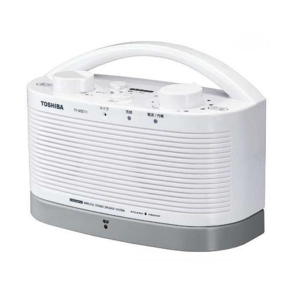 東芝 ワイヤレススピーカーシステム TY-WSD11-W ホワイトの画像