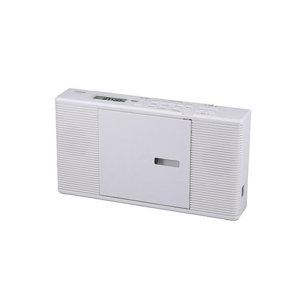 東芝TOSHIBACDラジオワイドFM対応ホワイトTY-C260-W