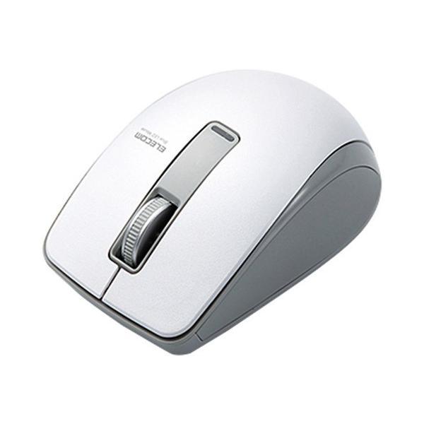 エレコム Bluetoothマウス/3ボタン M-BT19BBWH ホワイトの画像