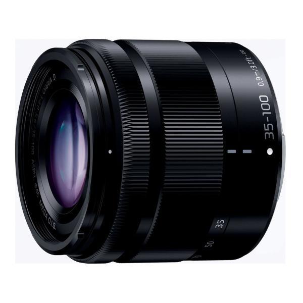 新品 パナソニック 交換用レンズ LUMIX G VARIO 35-100mm F4.0-5.6 ASPH./MEGA O.I.S. ブラック H-FS35100-K [セット用白箱][在庫あり][即納可]