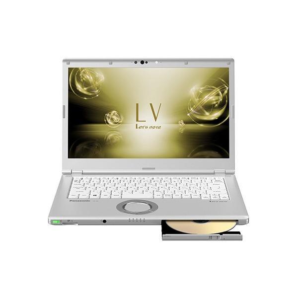 Panasonic CF-LV72DGQR ノートパソコン Let's note(レッツノート)LVシリーズ シルバー [14.0型 /intel Core i5 /SSD:256GB /メモリ:8GB /2018年6月モデル]の画像