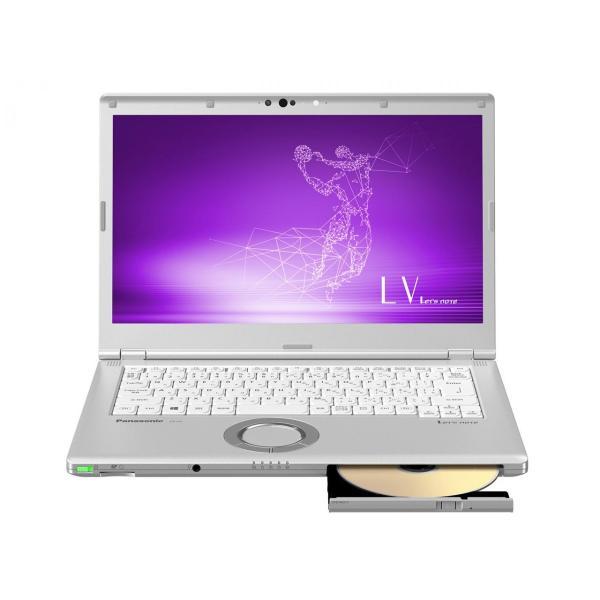Panasonic CF-LV7CDFQR ノートパソコン Let's note(レッツノート) LVシリーズ シルバー [14.0型 /intel Core i5 /SSD:128GB /メモリ:8GB /2019年春モデル]の画像