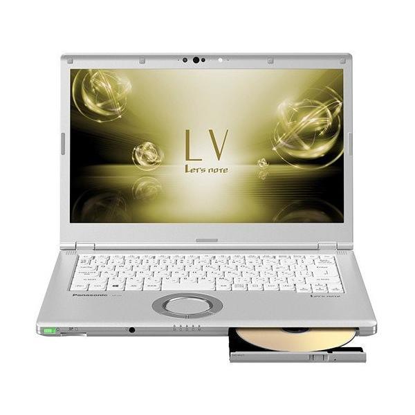 Panasonic CF-LV7HDFQR ノートパソコン Let's note(レッツノート) LVシリーズ シルバー [14.0型 /intel Core i5 /SSD:128GB /メモリ:8GB /2018年10月モデル]の画像