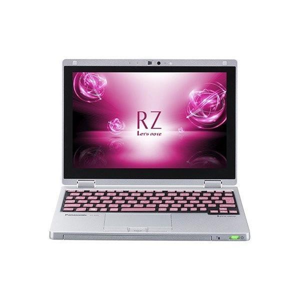 Panasonic CF-RZ61DPPR ノートパソコン Let's note(レッツノート)RZシリーズ ピンク [10.1型 /intel Core m3 /SSD:128GB /メモリ:8GB /2018年6月モデル]の画像