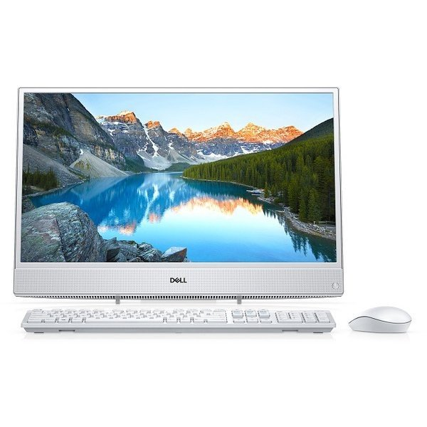 FI06-8HHBW デスクトップパソコン Inspiron 22 3000 ホワイト [21.5型 /HDD:1TB /メモリ:4GB /2018年春]の画像