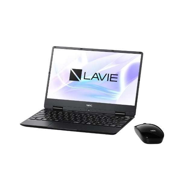 NEC PC-NM550MAB-2 ノートパソコン LAVIE Note Mobile(NM550/MAシリーズ)【ビックカメラグループオリジナル】 パールブラック [12.5型 /intel Core i5 /SSD:256GB /メモリ:8GB /2019年春モデル]の画像