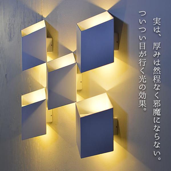 幾何学壁的照明ユークリライト 屋内 ブラケット ライト LED 照明 ウォール 壁 モダン おしゃれ トリック WL024-SET|denraiasia|05