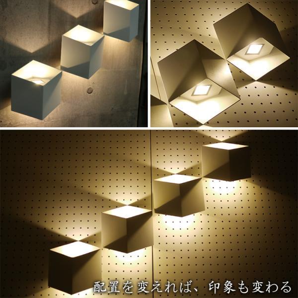 幾何学壁的照明ユークリライト 屋内 ブラケット ライト LED 照明 ウォール 壁 モダン おしゃれ トリック WL024-SET|denraiasia|08
