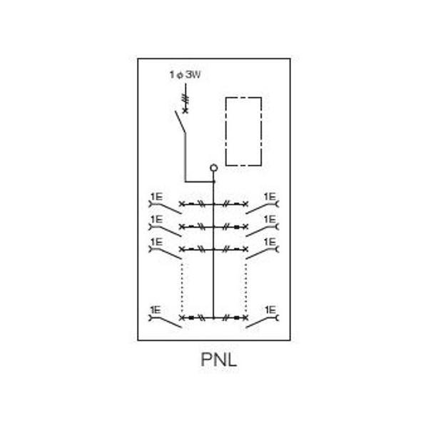 【7月 ポイント3倍】 日東工業 PEN10-18JC アイセーバ協約形プラグイン電灯分電盤 基本タイプ 単相3線式 主幹75A 分岐回路数18 色クリーム