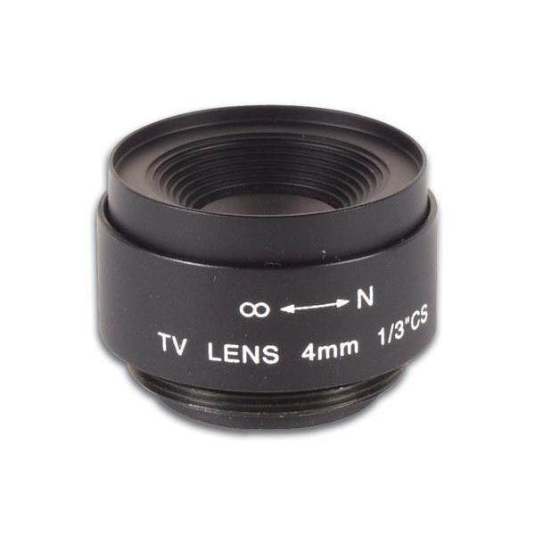 ワイドアングルCCTVレンズ4mm / f2.0