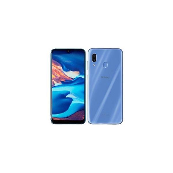 GALAXY A30 SCV43 64GB ブルー auの画像