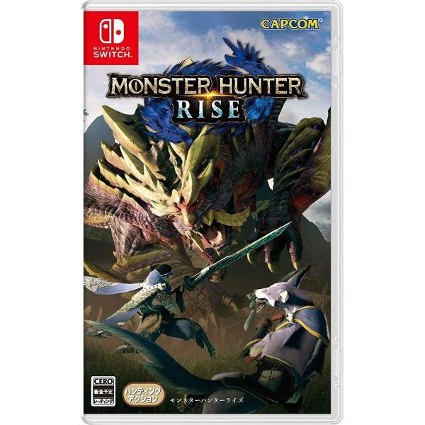 モンスターハンターライズ NintendoSwitch Switch用ソフト(パッケージ版)メール便新品