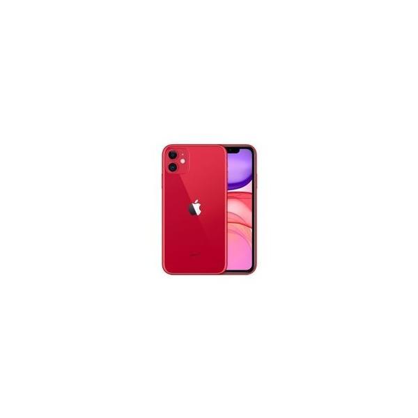 iPhone 11 128GB RED MWM32J/A  SIMフリー SIMロック解除品 白ロム【開封済み未使用品】