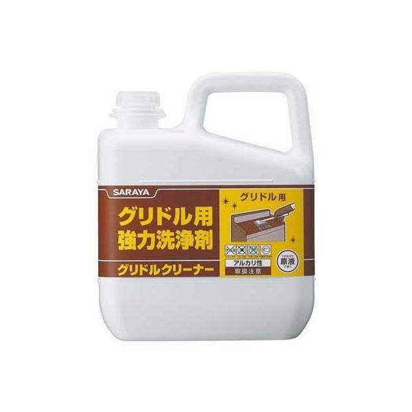 サラヤ JSV4501 サラヤ グリドル用強力洗浄剤 グリドルクリーナー 6kg 51393