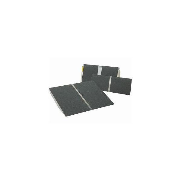 ds-1431396 イーストアイ ポータブルスロープ アルミ1枚板タイプ(PVTシリーズ) /PVT025 長さ25.5cm (ds1431396)