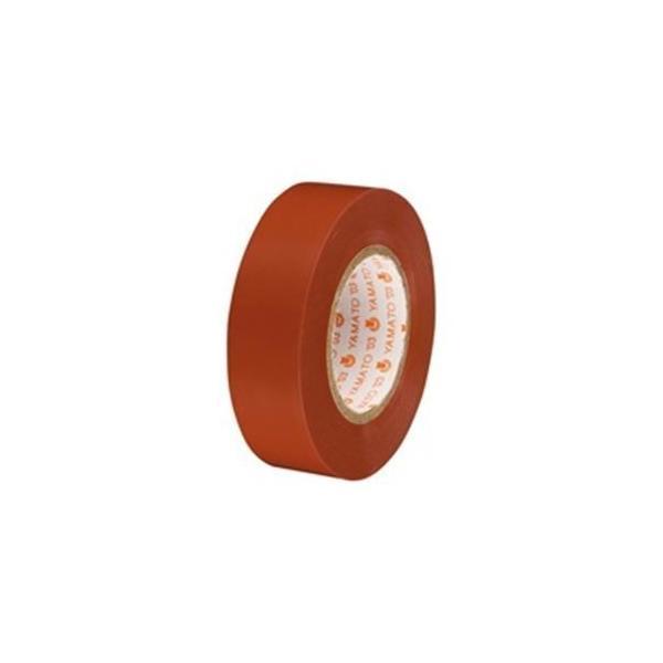 ds-1464167 (業務用5セット)ヤマト ビニールテープ/粘着テープ 【19mm×10m/茶】 10巻入り NO200-19  (ds1464167)
