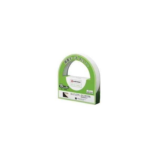 ds-1731415 (業務用200セット) ジョインテックス 両面テープ(再生タイプ)15mm×20m B571J (ds1731415)
