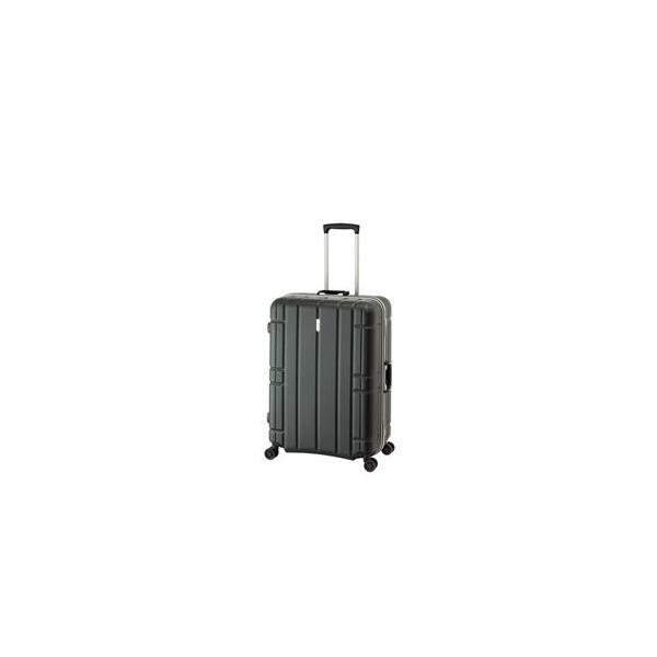 ds-1950622 スーツケース/キャリーバッグ 【マットブラック】 100L 手荷物預け無料最大サイズ TSAロック アジア・ラゲージ 『AliMaxG』 (ds1950622)