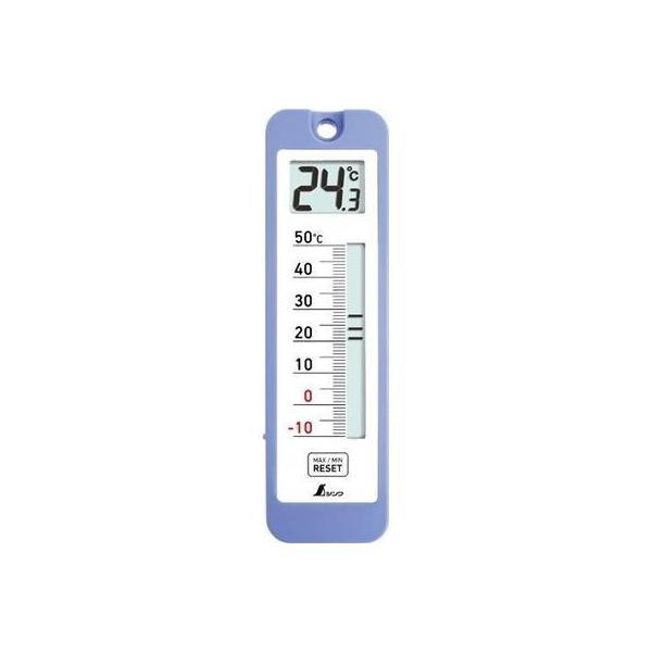 シンワ測定 4960910730434 デジタル温度計 D-10 最高・最低 防水型