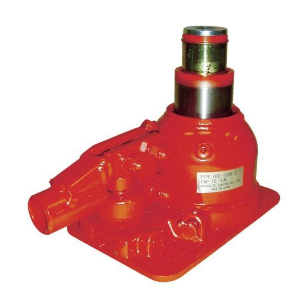 トラスコ中山 tr-8562325 マサダ 二段式油圧ジャッキ(超低床式) (tr8562325)