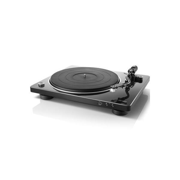 RoomClip商品情報 - DENON DP-450USB(BK) USBメモリーへのダイレクト録音対応 本格マニュアルレコードプレーヤー(ブラック) (DP450USB(BK))