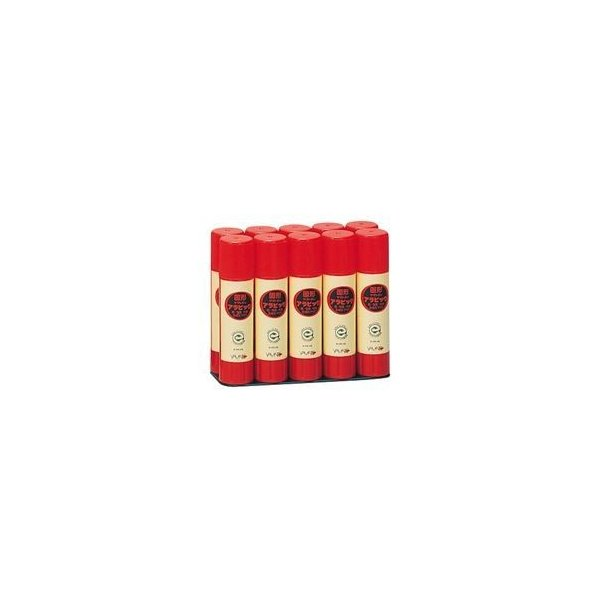 ds-2120939 (まとめ) ヤマト 固形アラビック 口紅タイプお徳用パック 10g YS-8-10S 1パック(10本) 【×5セット】 (ds2120939)